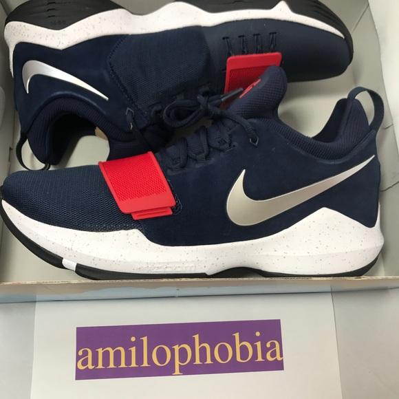 Mens Nike Pg Size 14 Blue Paul George